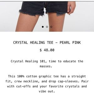 Project Social T Tops - 🆕 PROJECT SOCIAL T Crystal Healing Tee